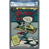 Action Comics #88 CGC 8.5 (OW-W) *0006035005*
