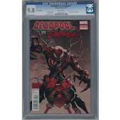 Deadpool vs. Carnage #1 CGC 9.8 (W) *0257217016*