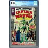 Marvel Super Heroes #12 CGC 8.0 (OW-W) *0297526006*