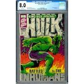 Incredible Hulk Annual #1 CGC 8.0 (W) *0329830008*