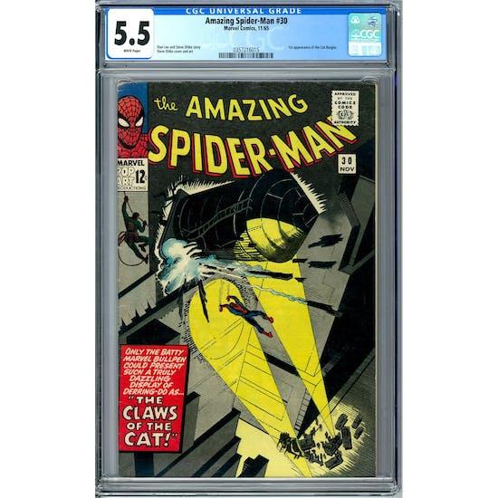 Amazing Spider-Man #30 CGC 5.5 (W) *0357216015*