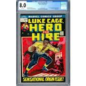 Hero For Hire #1 CGC 8.0 (W) *0357224012*