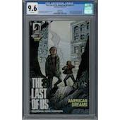 The last of Us: American Dreams #1 CGC 9.6 (W) Variant *0358571004*
