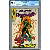 Amazing Spider-Man #62 CGC 9.0 (W) *0358577005*