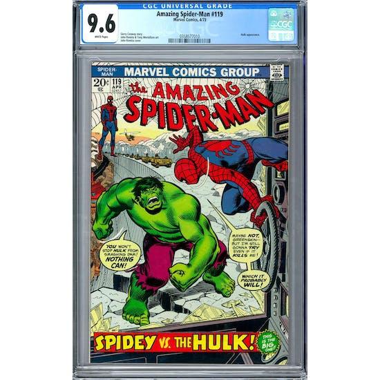 Amazing Spider-Man #119 CGC 9.6 (W) *0358577010*