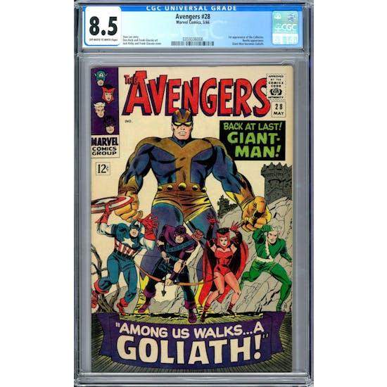 Avengers #28 CGC 8.5 (OW-W) *0359336008*
