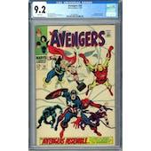 Avengers #58 CGC 9.2 (W) *0359336011*