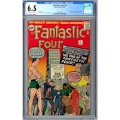 Fantastic Four #9 CGC 6.5 (OW-W) *0359342002*