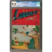 Liberty Comics #11 CGC 9.2 (C-OW) *0359560004*