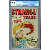 Strange Tales #107 CGC 7.5 (OW-W) *0360040015*