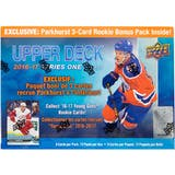2016/17 Upper Deck Series 1 Hockey Mega Box (w/ Exclusive Parkhurst Bonus Pack)
