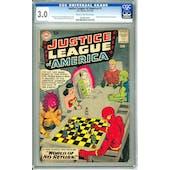 Justice League of America #1 CGC 3.0 (C-OW) *0609814001*