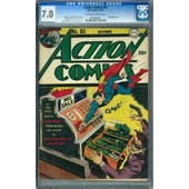 Action Comics #65 CGC 7.0 (OW-W) *0976984001*