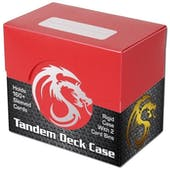BCW Tandem Deck Case - Red