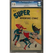 Super Adventure Comics #5 CGC 7.0 (OW) Australian Edition *1004607006*