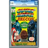 Captain America #139 CGC 9.8 (OW-W) *1023207025*