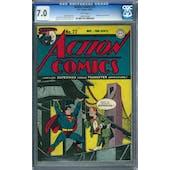 Action Comics #77 CGC 7.0 (W) *1099475002*