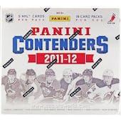 2011/12 Panini Contenders Hockey Hobby Box