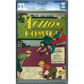 Action Comics #71 CGC 6.0 (OW-W) *1131764005*