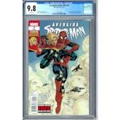 Avenging Spider-Man #9 CGC 9.8 (W) *1213257003*