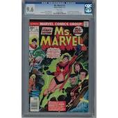 Ms. Marvel #1 CGC 9.6 (W) *1264238003*