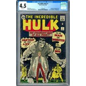 Incredible Hulk #1 CGC 4.5 (W) *1284089002*
