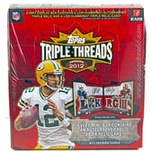 2012 Topps Triple Threads Football Hobby Box