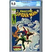 Amazing Spider-Man #74 CGC 9.0 (W) *1393407003*