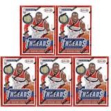 2014/15 Panini Threads Basketball Blaster Box (Lot of 5)