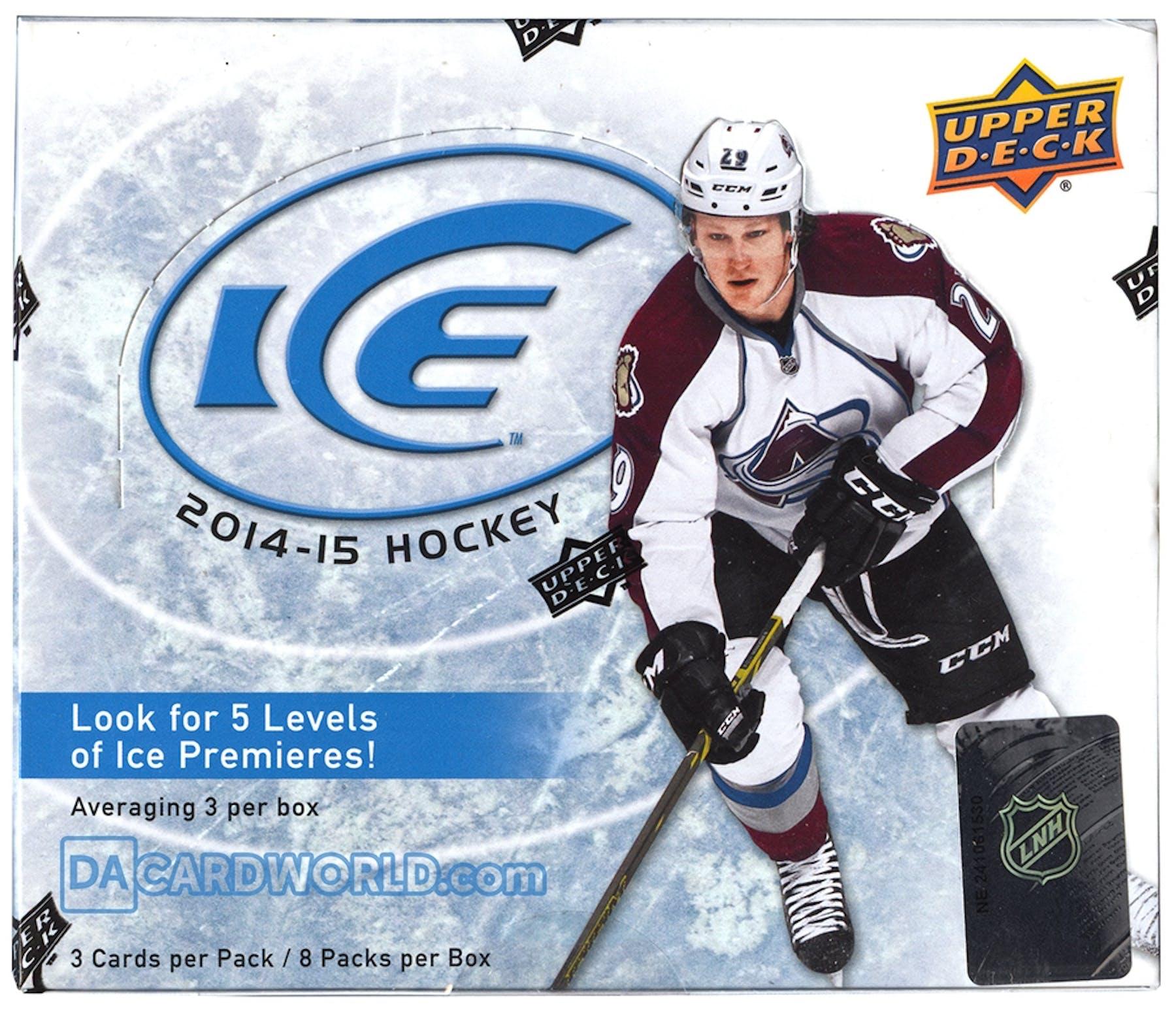 bc1c903134d 2014 15 Upper Deck Ice Hockey Hobby Box