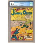 Superman's Pal Jimmy Olsen #2 CGC 4.5 (OW-W) *1418164004*