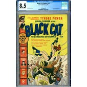 Black Cat Comics #23 CGC 8.5 (C-OW) *1447688009*