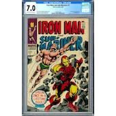 Iron Man and Sub-Mariner #1 CGC 7.0 (OW-W) *1462815004*