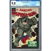 Amazing Spider-Man #41 CGC 9.0 (OW-W) *1489834006*