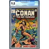Conan the Barbarian #1 CGC 9.8 (W) *1494045007