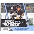 2015/16 Upper Deck Full Force Hockey Hobby Box