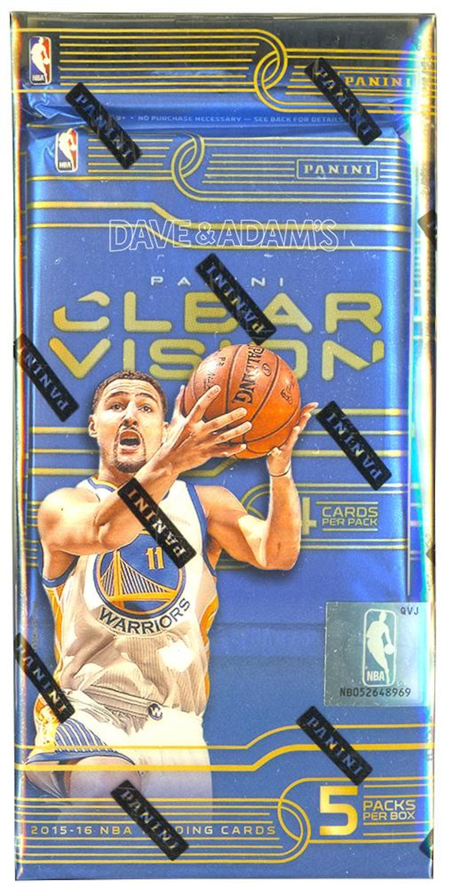 67afc4ebe02 2015 16 Panini Clear Vision Basketball Hobby Box