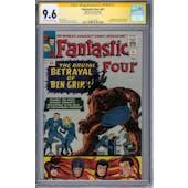 Fantastic Four #41 CGC 9.6 Stan Lee Signature Series (OW-W) *1575277002*
