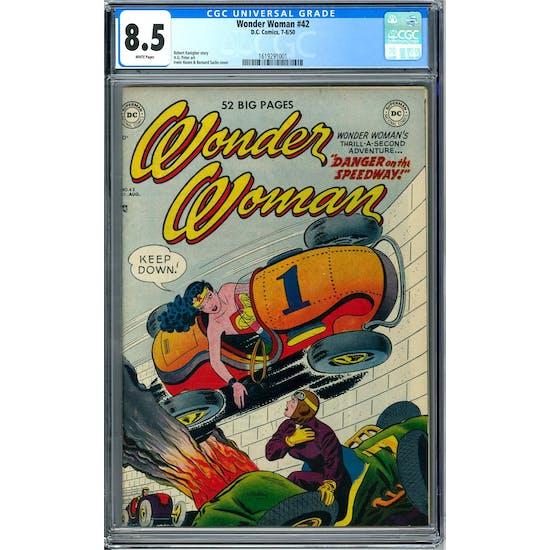 Wonder Woman #42 CGC 8.5 (W) *1619291001*