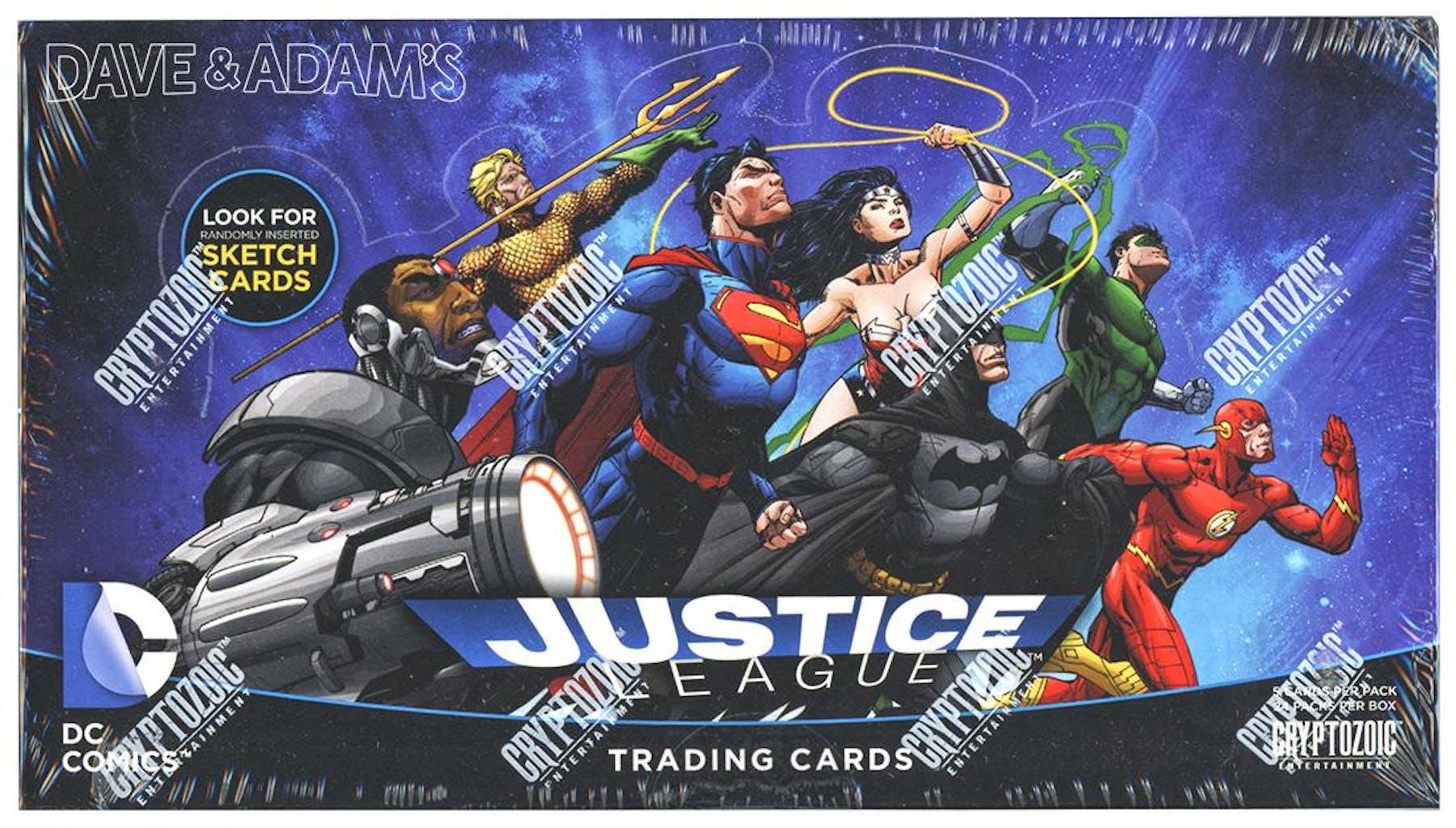 3ce83fe78e4d9 DC Comics Justice League Trading Cards Box (Cryptozoic 2016)