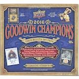 2016 Upper Deck Goodwin Champions Hobby Box