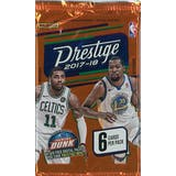 2017/18 Panini Prestige Basketball Hobby Pack (Lot of 24)