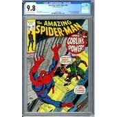 Amazing Spider-Man #98 CGC 9.8 (OW-W) *1841451003*