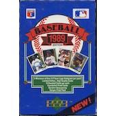 1989 Upper Deck Low # Baseball Wax Box
