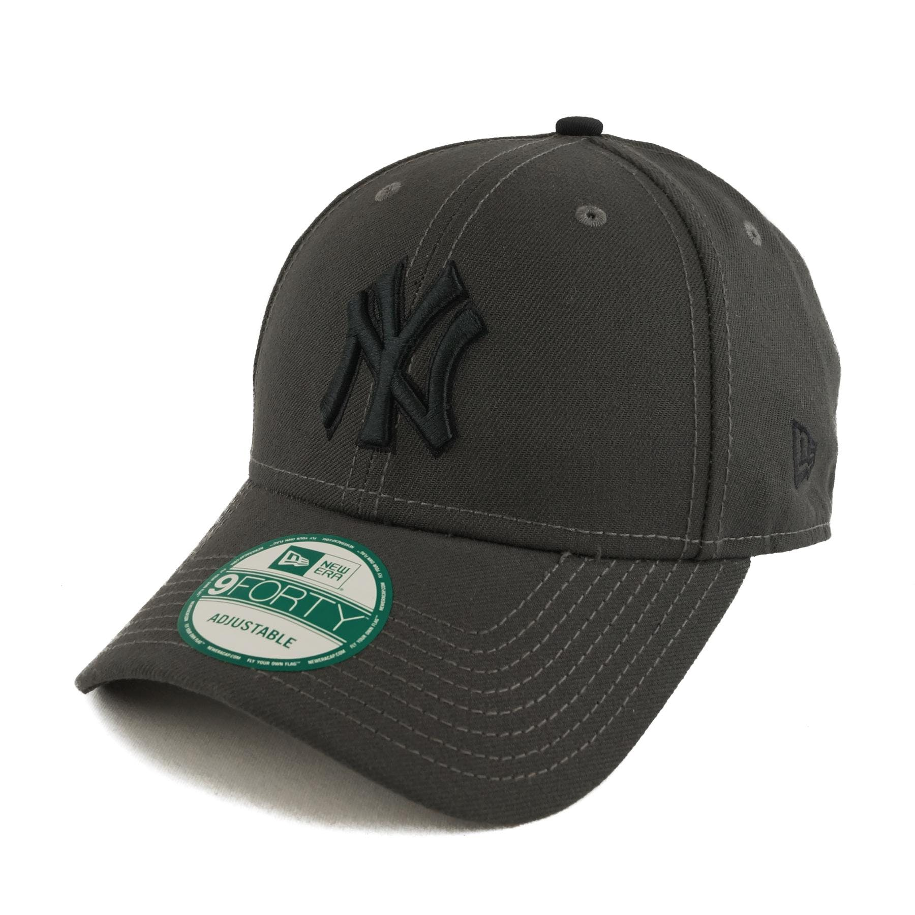 f92d380c008 New York Yankees New Era 9Forty Gray League Pop Adjustable Hat (Adult One  Size)