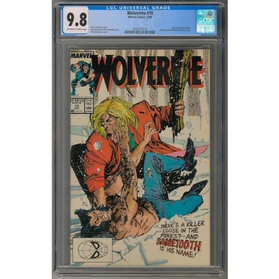 Wolverine #10 CGC 9.8 (OW-W) *2004797018*