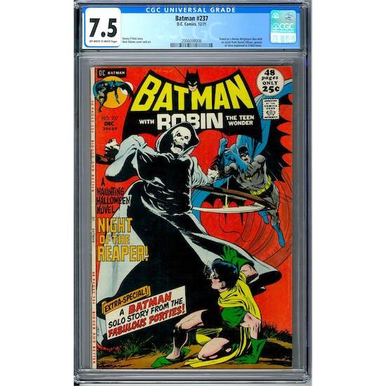 Batman #237 CGC 7.5 (OW-W) *2006094006*