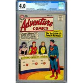Adventure Comics #247 CGC 4.0 (OW-W) *2012378003*