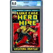 Hero For Hire #1 CGC 8.0 (OW-W) *2012609001*