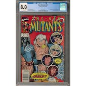 New Mutants #87 CGC 8.0 (W) Newsstand *2016560003*
